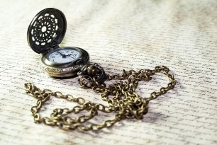 A Chain Pocket Watch Offers Users Security